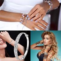 Различные способы использования браслетов.